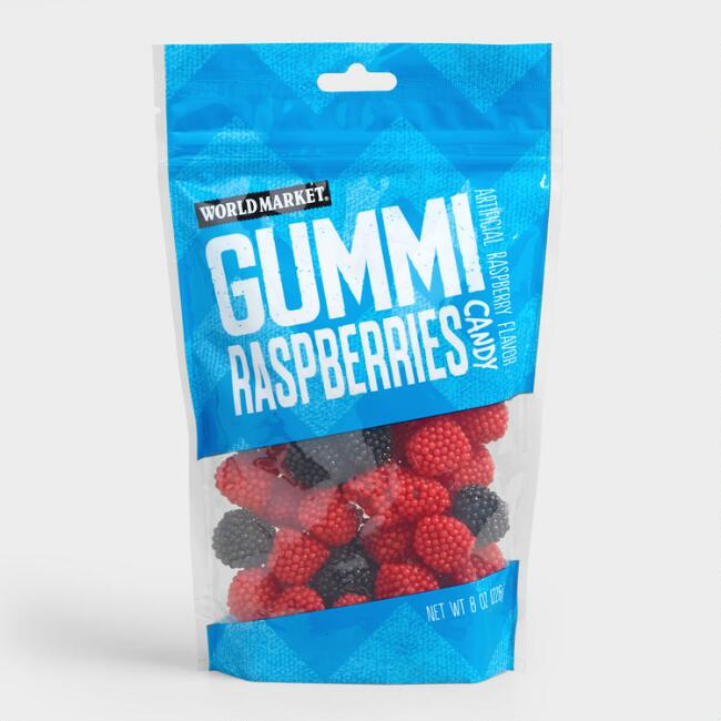 World Market® Raspberry Gummy Candy Set of 3