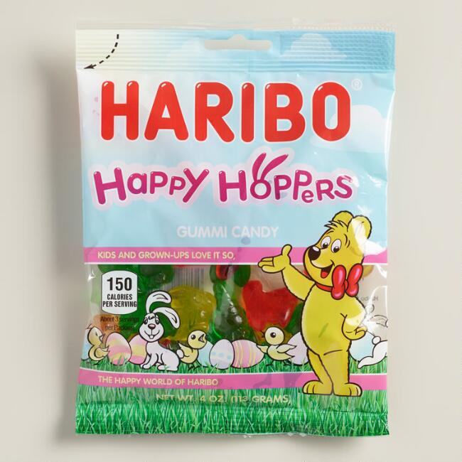 Haribo Happy Hoppers Gummy Candy