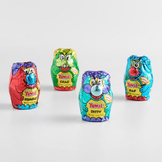 Yowie Collectable Chocolate-Covered Toy, Set of 4