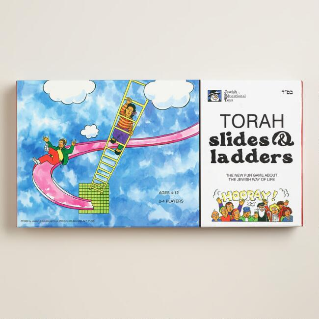 Torah Slides and Ladders Board Game