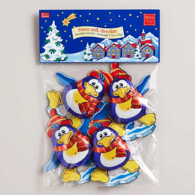 Storz Chocolate Penguins, Set of 6 bags