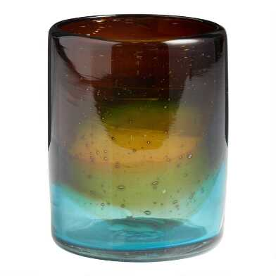 Ombre Monterey Double Old Fashioned Glasses Set Of 4