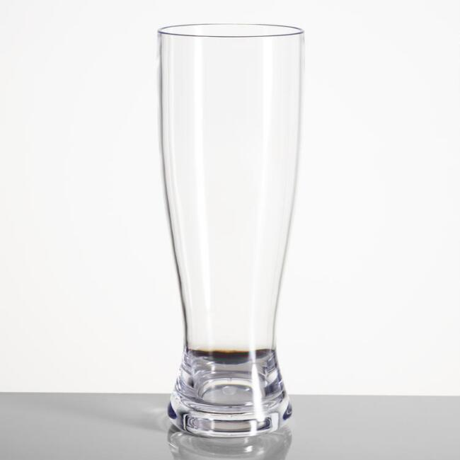 Acrylic Pilsner Glasses Set of 4