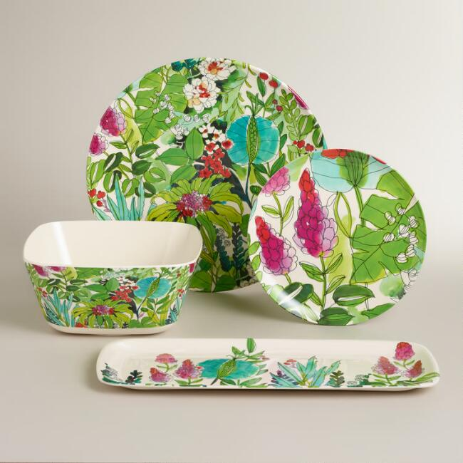 Fiji Melamine Serveware Collection
