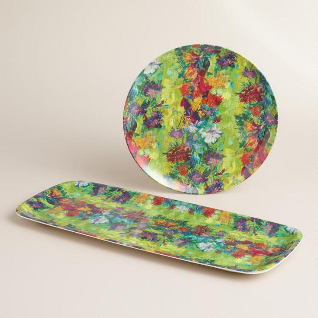 Splatter Melamine Serveware Collection