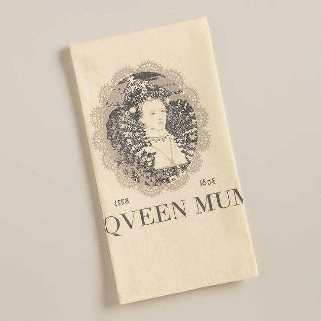 Queen Mum Kitchen Towels, Set of 2