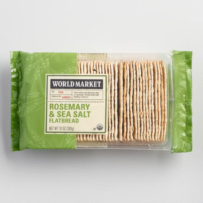 World Market® Rosemary & Sea Salt Flatbread