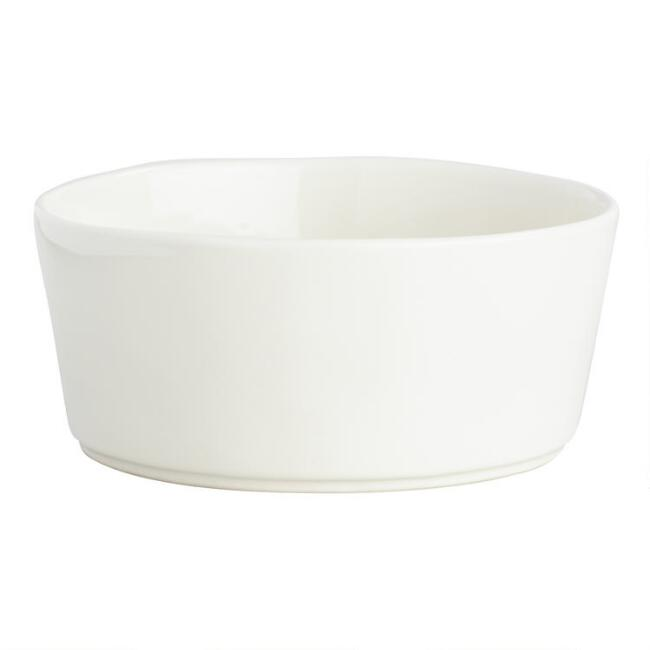 Ivory Organic Bowls, Set of 6