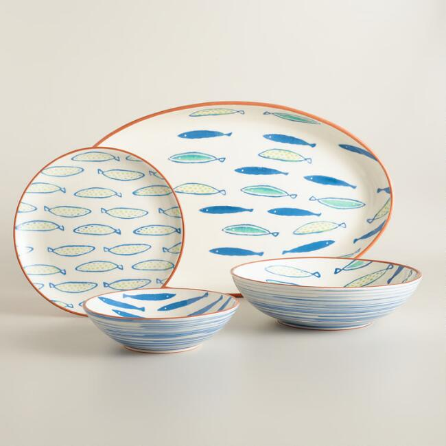 Riviera Fish Dinnerware
