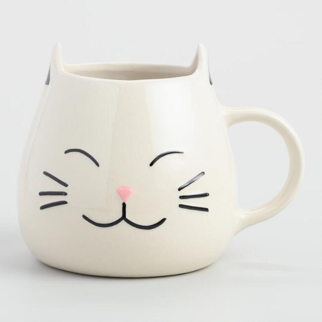 Cat  Mug, Set of 2