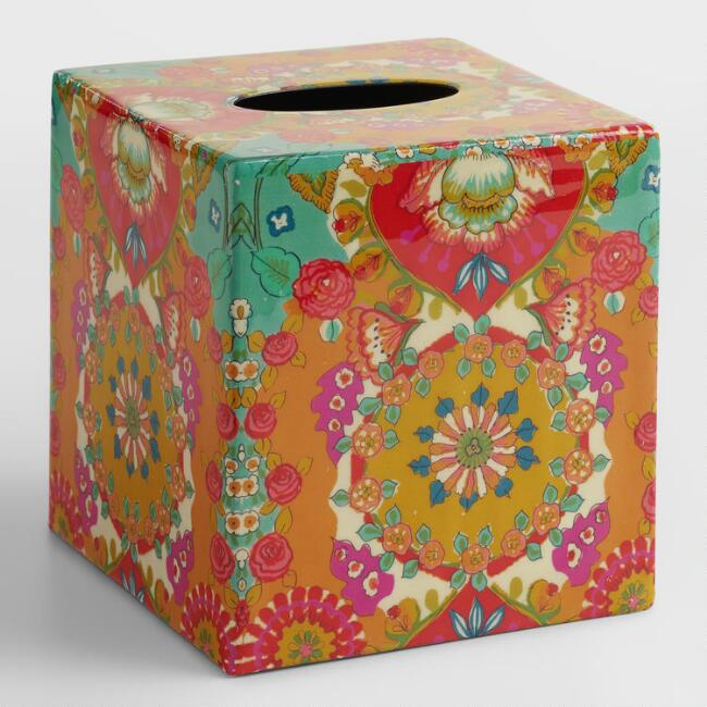 Bettina Floral Tissue Cover