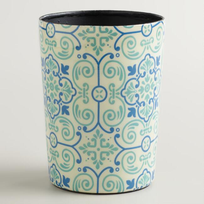 Turquoise Tile Toothbrush Holder