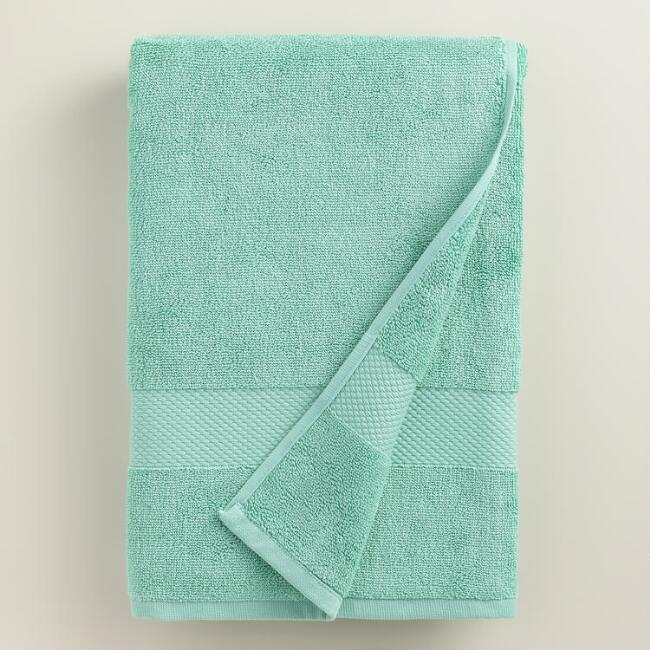 Sea Blue Bath Towel