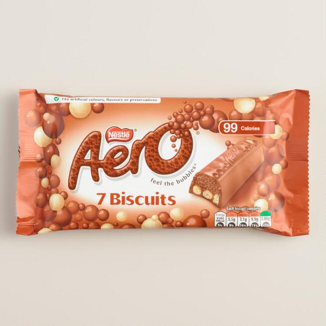 Nestle Aero Milk Chocolate Biscuit Bars, Set of 2