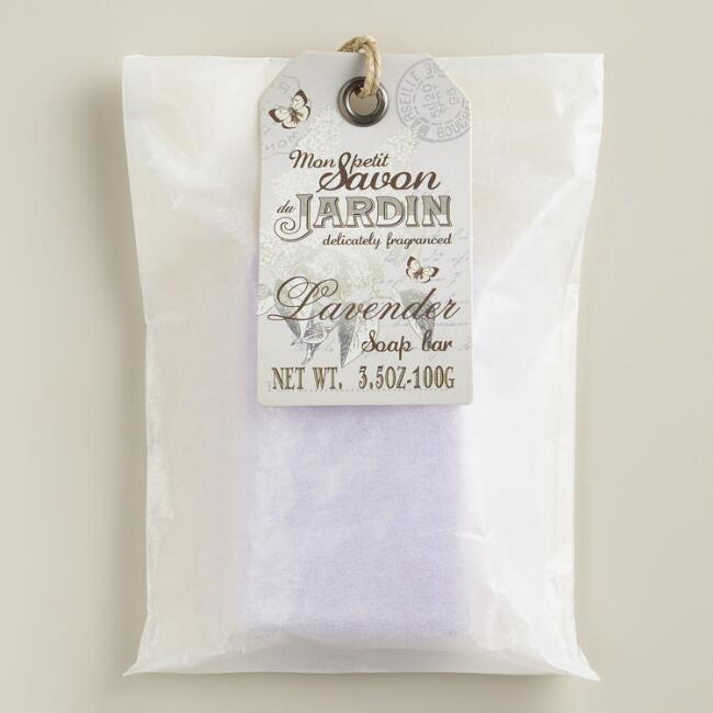 Lavender Soap in Wax Paper Wrapping, Set of 2