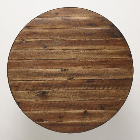 Round Wood Hairpin Coffee Table Previous V5 V1 V2