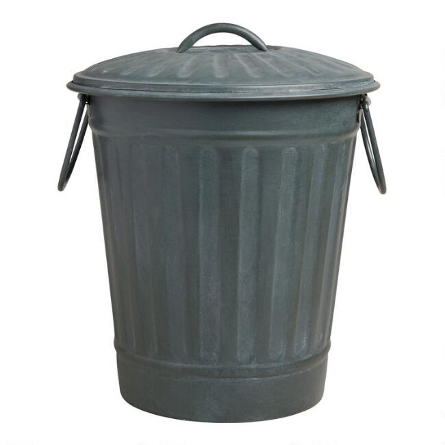 Metal Bin With Lid Robinsonnetwork Org