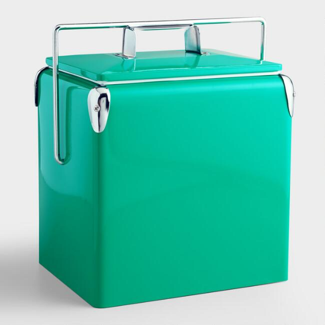 Aqua Retro Drink Cooler