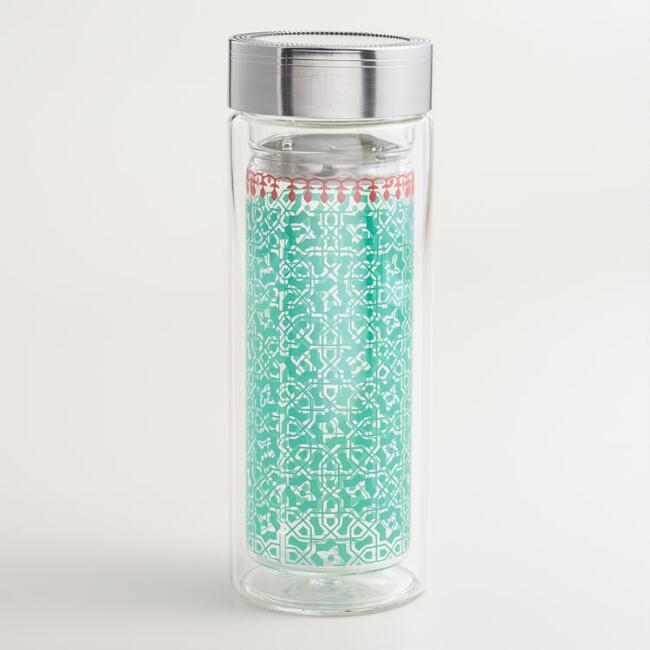 Lagoon Tile Glass Tea Carafe