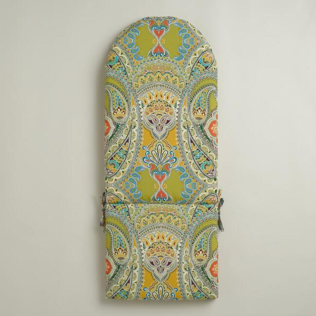 Venice Paisley Adirondack Chair Cushion