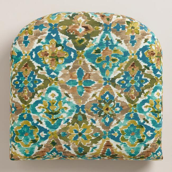 Casablanca Tiles Gusseted Outdoor Chair Cushion