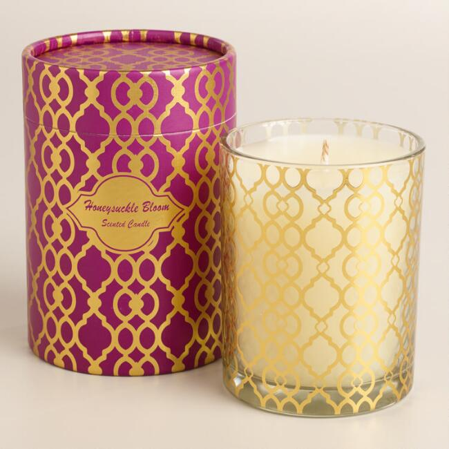 Honeysuckle Bloom Ethel Boxed Candle