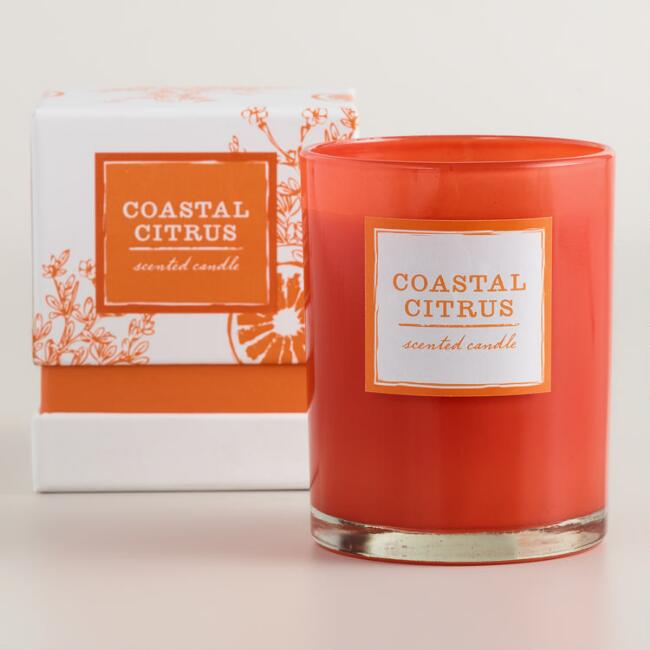 Coastal Citrus Boxed Tumbler Candle