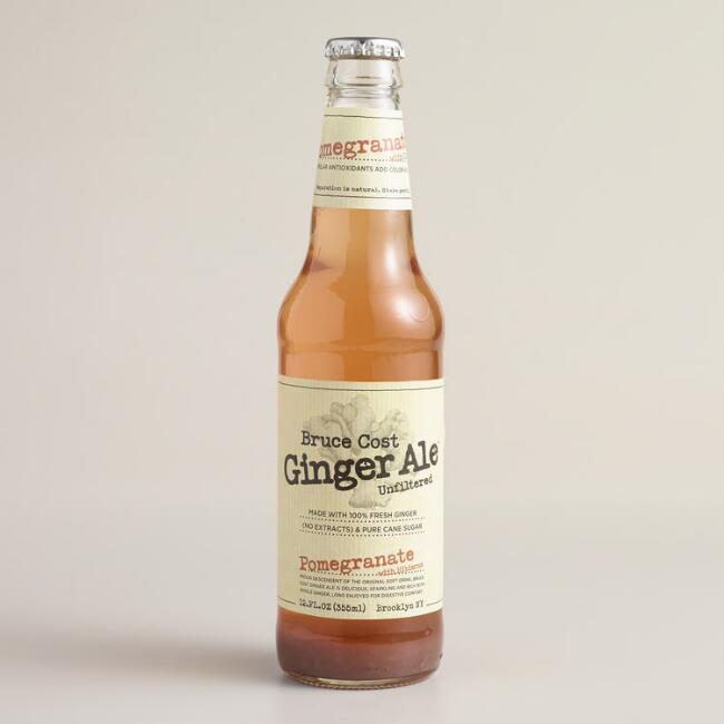 Bruce Cost Pomegranate Fresh Ginger Ale