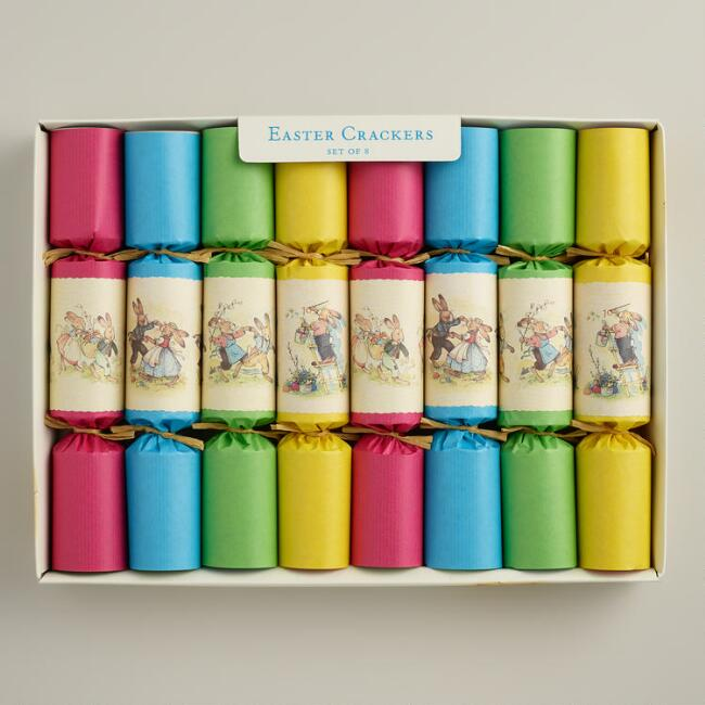 8-Piece Boxed Easter Crackers