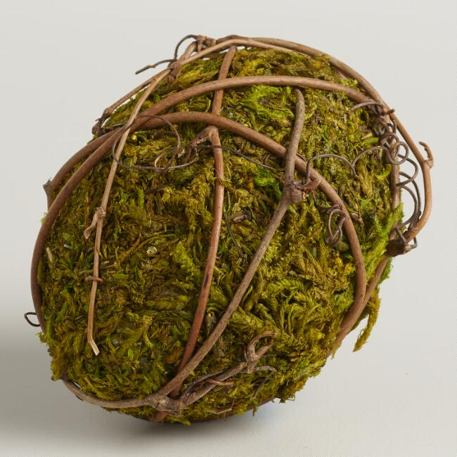 Mossy Eggs, Set of 3