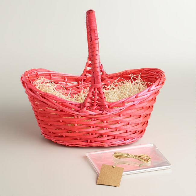 Coral Easter Basket Kit