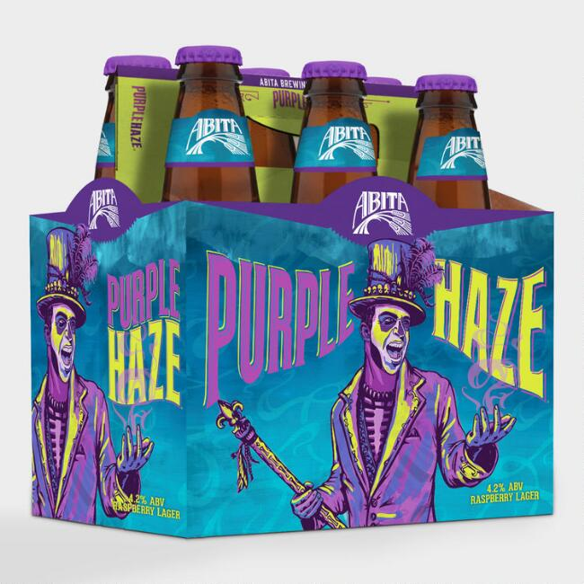 Abita Purple Haze Lager, 6-Pack