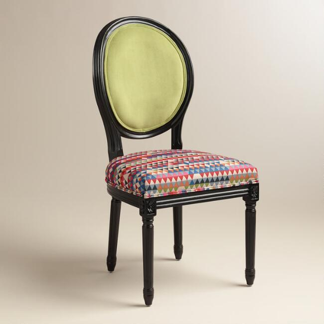 Green Holland Park Paige Round Back Side Chairs, Set of 2