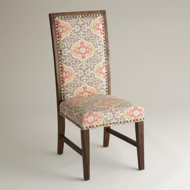 Medallion Print Java Greyson Side Chairs, Set of 2