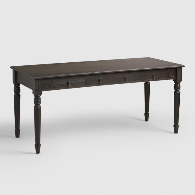 Rubbed Black Quade Desk