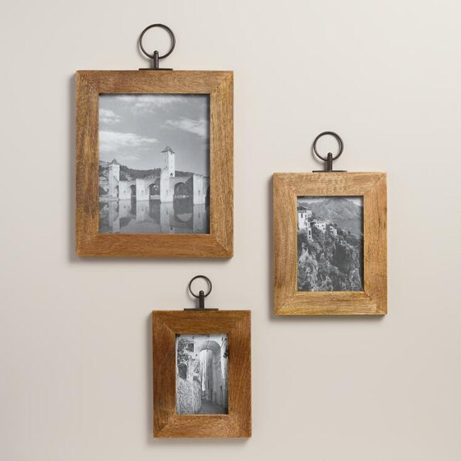 Natural Wood Alister Wall Frame