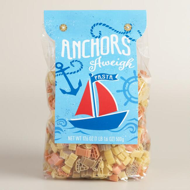 World Market® Kid's Anchors Aweigh Pasta, Set of 2