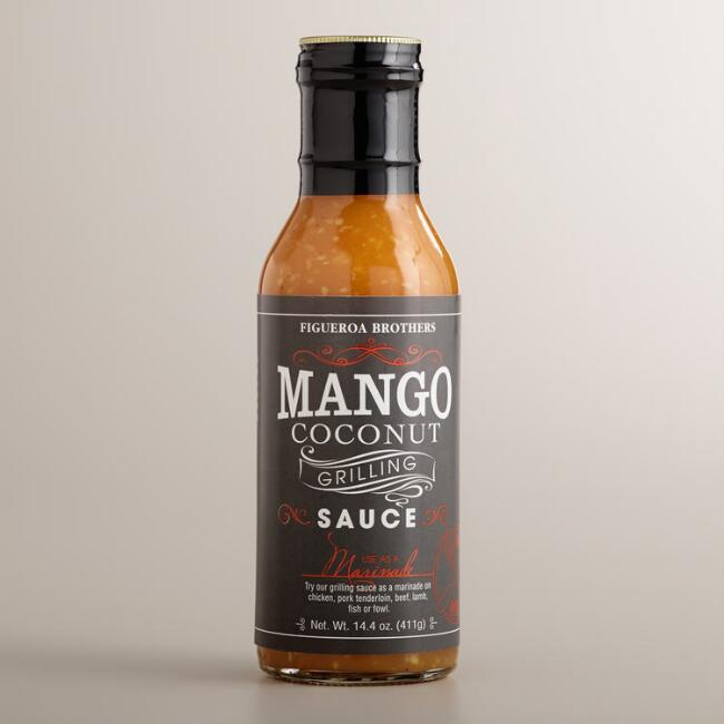 Figueroa Brothers  Mango Coconut Grilling Sauce