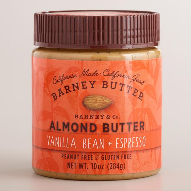 Vanilla Bean and Espresso and Almond Barney Butter
