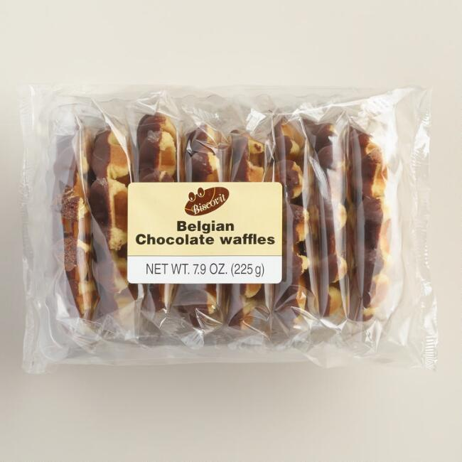 Chocolate-Dipped Belgian Waffle, 8-Count