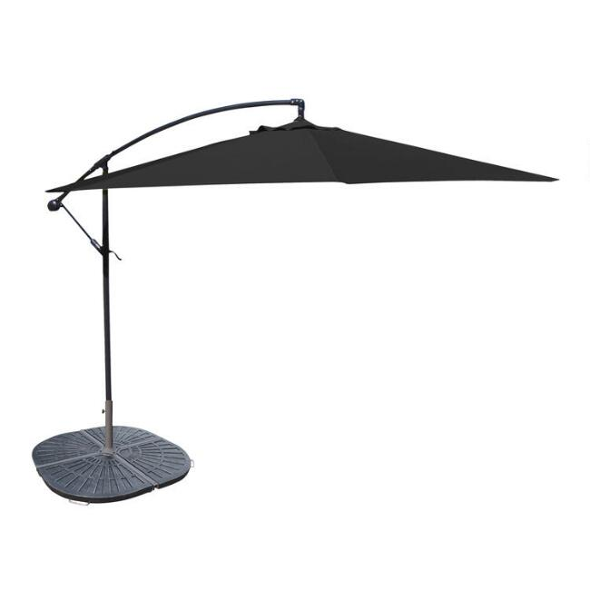 Black Cantilever Outdoor Umbrella Collection