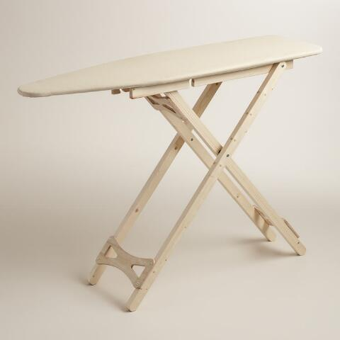 Wood Ironing Board With Cotton Cover Previous V3 V1
