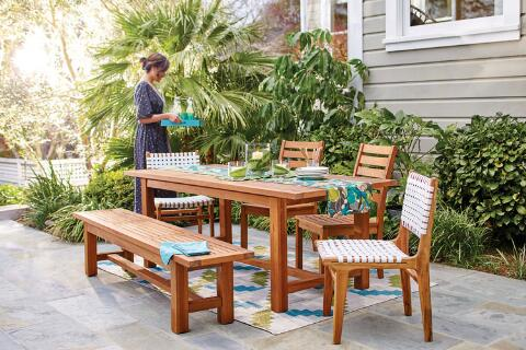 Praiano Outdoor Dining Collection, World Market Patio Furniture