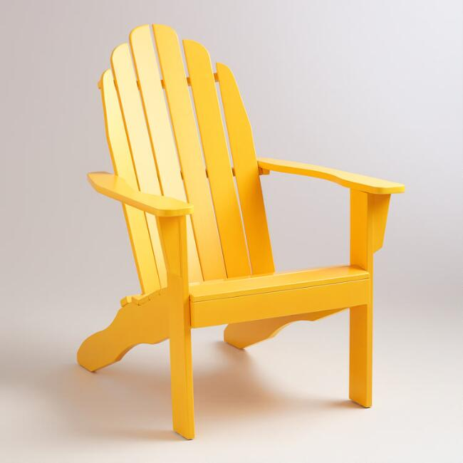 Golden Rod Adirondack Chair