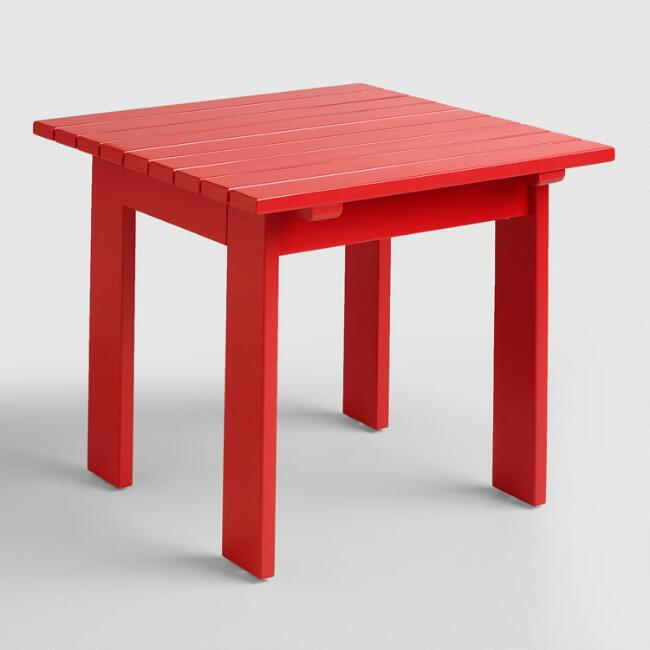 Barbados Cherry Adirondack Side Table