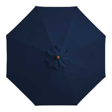 Peacoat Blue 9 Ft Replacement Umbrella Canopy