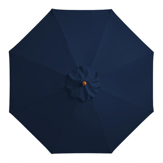 Peacoat Blue 9 Ft Umbrella Canopy