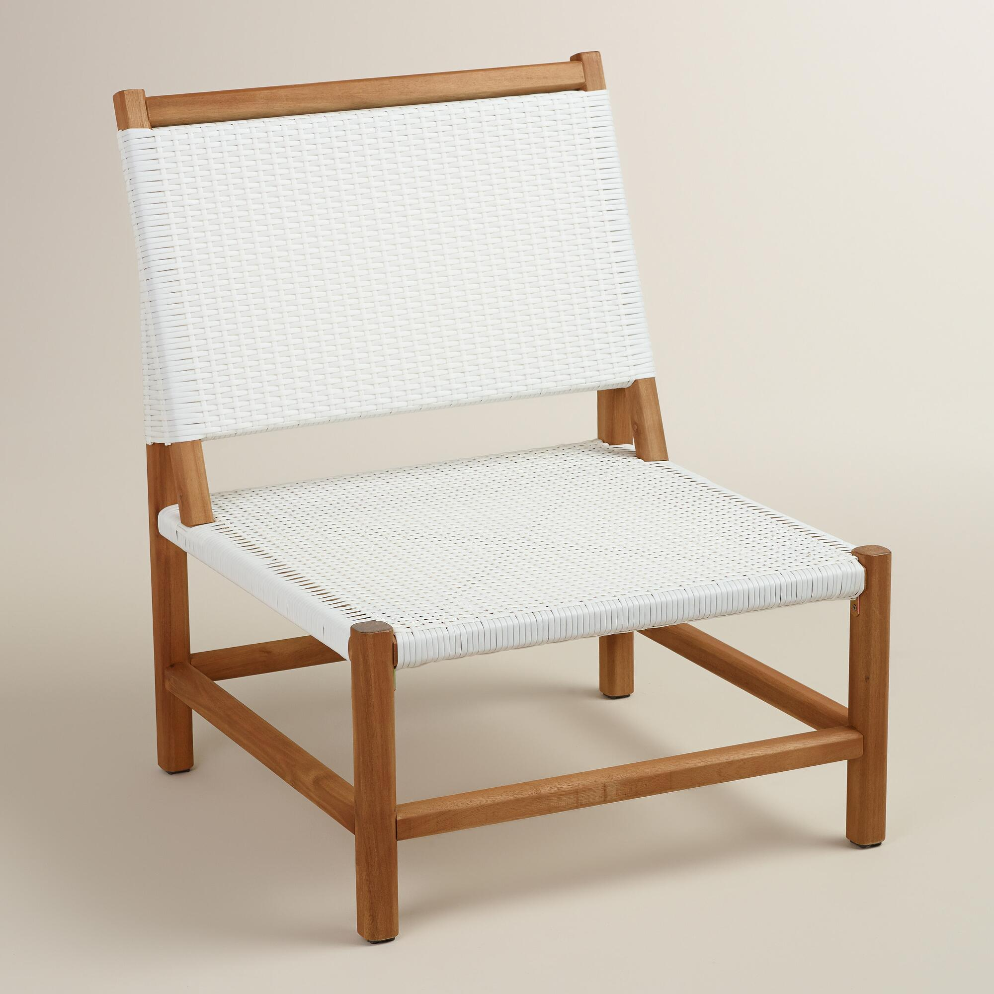 . Wood Sirmione Outdoor Chair Set of 2   World Market
