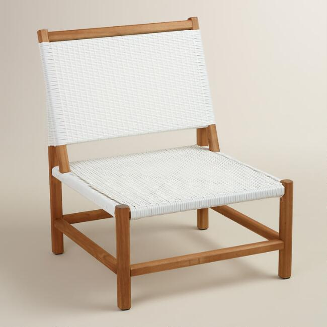 Wood Sirmione Outdoor Chair Set of 2