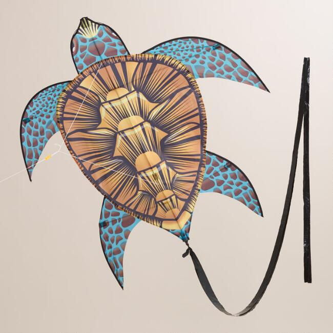 Nylon Sea Turtle Kite